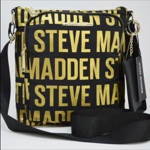 Authentic Steve Madden BGLAMM LOGO Crossbody Bag